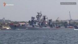 Россия проводит военные учения в Севастополе (видео)