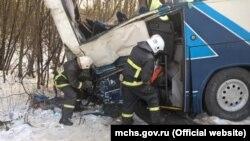 Авария в Ханты-Мансийском автономном округе, Угра, 4 декабря 2016 года.