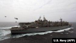 Ամերիկյան USS Boxer ռազմանավը Պարսից ծոցում, հուլիս, 2019թ․
