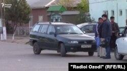 марзи Тоҷикистону Узбекистон дар ноҳияи Шаҳритуз