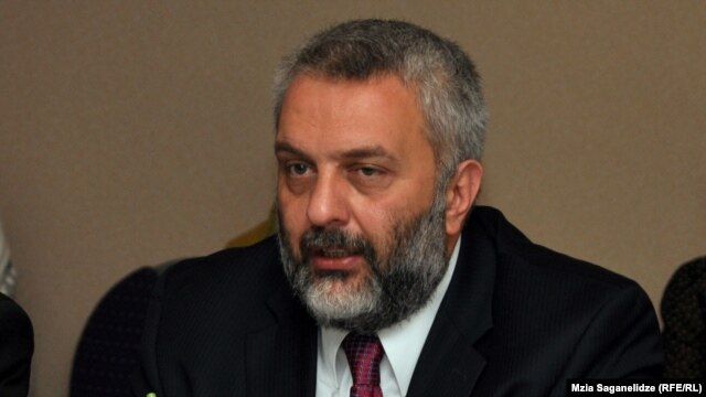 Former Central Election Commission Chairman  Zurab Kharatishvili, pictured here in 2012 (file photo)