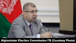 مولانا محمدعبدالله عضو کمیسیون مستقل انتخابات افغانستان
