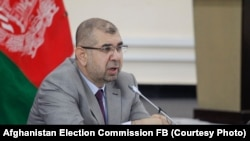 د انتخاباتو د خپلواک کمېسیون غړی محمد عبدالله