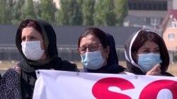 Кыргызстан годами отказывает в убежище афганцам. Они не выдержали и вышли на митинг в Бишкеке