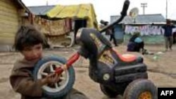 Romski dječak na Kosovu