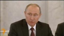 """Putin salută """"parteneriatul strategic"""" cu Ucraina"""
