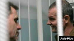 Дар акс: Алексей Руденко (аз тарафи чап) ва Владимир Садовничий