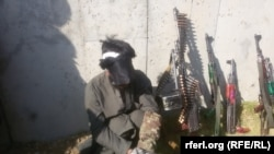 An anti-government militant captured by the government forces in Kunar on November 1.