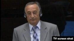 Dragan Lalović tokom svjedočenja