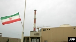 The building that houses the Bushehr reactor, about 1,200 kilometers south of Tehran.