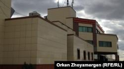 Здание Республиканского детского реабилитационного центра. Астана, 13 сентября 2013 года.