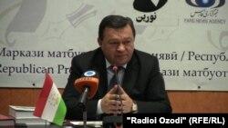 Фарҳод Раҳимӣ, президенти Академияи илмҳои Тоҷикистон