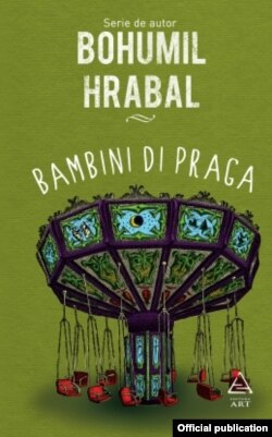 Romania - cover book Hrabal, bambini di Praga