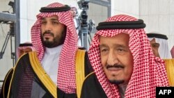 د سعودي عربستان پاچا سلمان بن عبدالعزیز او د دغه هېواد ولیعهد محمد بن سلمان