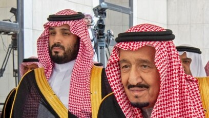 Saudijski kralj Salman (desno) i presolonaslednik Mohamed bin Salman (levo), novembar 2019.
