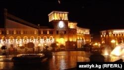 Ночной Ереван. Фото Талгата Акишова.