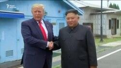 Это легендарный день! - Трамп об итогах встречи с Ким Чен Ыном