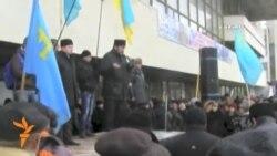 Акмәчеттә кырымтатарлар митингы узды