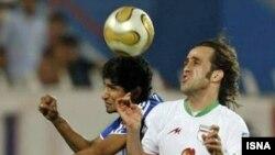 علی کريمی که بازيکنی تکنيکی و از نخبگان فوتبال ايران است، به مدت يک سال در باشگاه بايرن مونيخ آلمان به سر برد.(عکس: ایسنا)