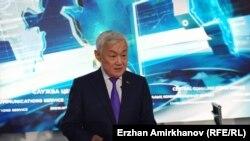 Заместитель премьер-министра Бердибек Сапарбаев. Нур-Султан, 8 января 2020 года.