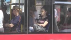 U gradskom autobusu kao u sauni
