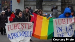 "Moldovan LGBT activists fear that new legislation is a covert attempt to introduce a ban on so-called ""gay propaganda,"" similar to laws that have already been passed in Russia. (file photo)"