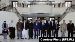 زلمی خلیلزاد نمایندۀ ویژۀ ایالات متحده در سفرش به کابل و دیدار با مقامها