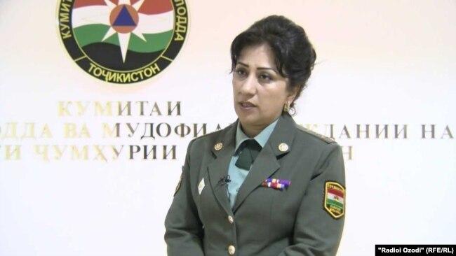 Умеда Юсупова, пресс-секретарь КЧС