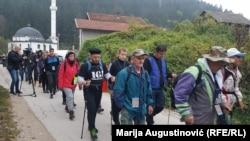 Učesnici pohoda će idućih dana proći dionicama od Karaule preko Bešpelja do Večića, kojima su u novembru 1992. godine bježali Bošnjaci iz Kotor-Varoši