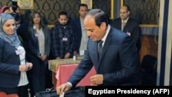 Aрхивска фотографија- претседателот на Египет Абдел Фатах ел-Сиси