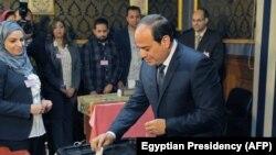 Presidentit egjiptian Abdel Fattah al-Sisi