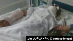 خودکشی یک مرد فقیر. بیمارستان میلاد تهران