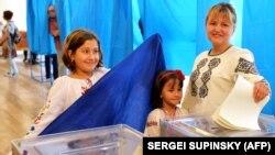 Сім'я голосує у 2014-му, Київ