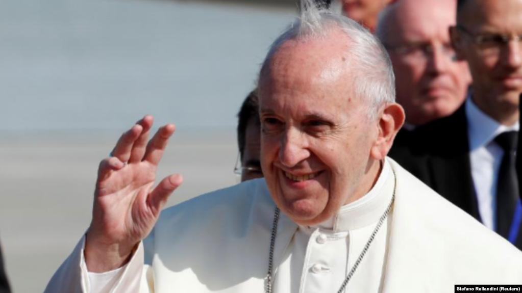 Папа римский Франциск в Ирландии, 25 августа 2018