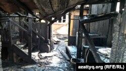 Последствия пожара в частном доме. Иллюстративное фото.