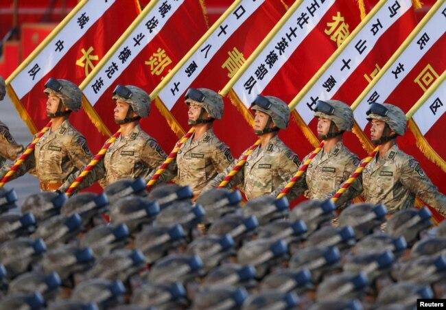Китайські військові. Пекін, 3 вересня 2015 року