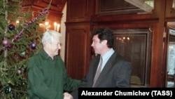Борис Ельцин и Борис Немцов, 1998 год