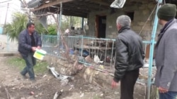 Azerbaijani Homes Damaged In Latest Fighting