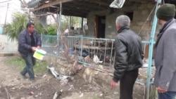Civilne kuće oštećene tokom sukoba u Azerbejdžanu