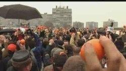 Мандариновый флэшмоб в Калининграде