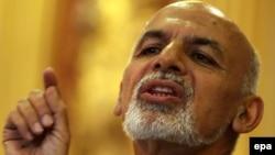 Ашраф Ғани. Кабул, 27 сәуір 2014 жыл.