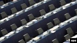 Prazna mjesta u Evropskom parlamentu - ilustracija