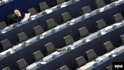 Сессійна зала засідань Євопейського парламенту в Страсбурзі (архівна фотографія)