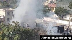 Pamje e një eksplodimi të mëparshëm në Kabul