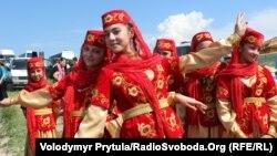 Татарский праздник в Бахчисарае