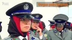 Kabul: Zenan polisiýa ofiserleri türgenleşdirilýär