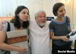 Анна Друбич, Сергей Соловьев и Татьяна Друбич