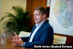 Tóth Bertalan, az MSZP társelnöke