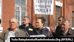 Акція на підтримку газети «Ліца», Дніпропетровськ, 18 травня 2012 року