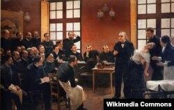 Антуаном Бруйе. Клинический урок в больнице Сальпетриер. 1887